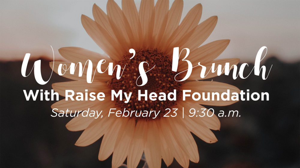 Women\'s Brunch with Raise My Head Foundation