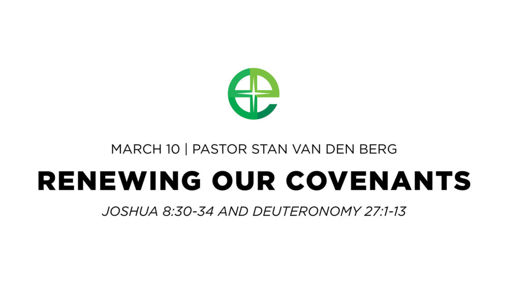 Renewing Our Covenants