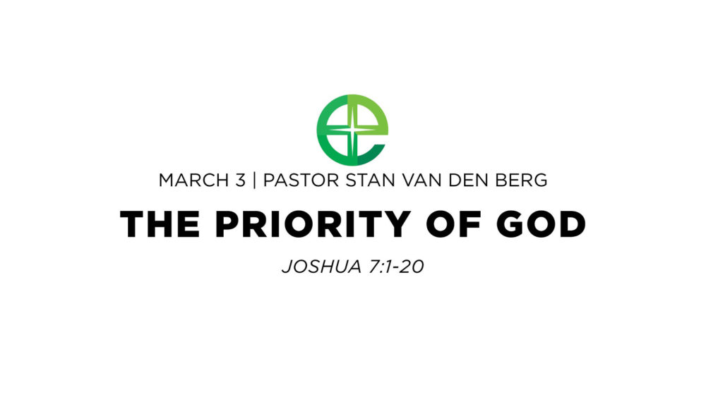 The Priority of God