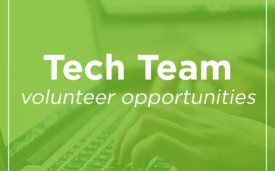 Tech Team Opportunities