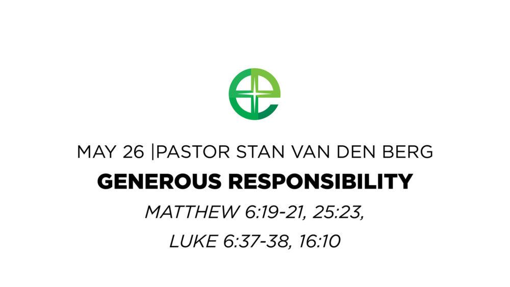 Generous Responsibility Image