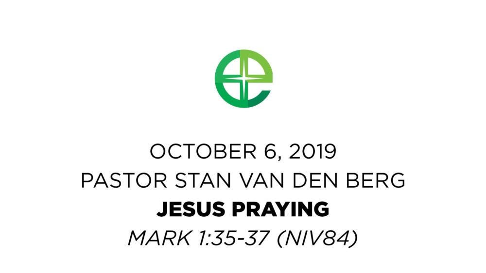 Jesus Praying Image