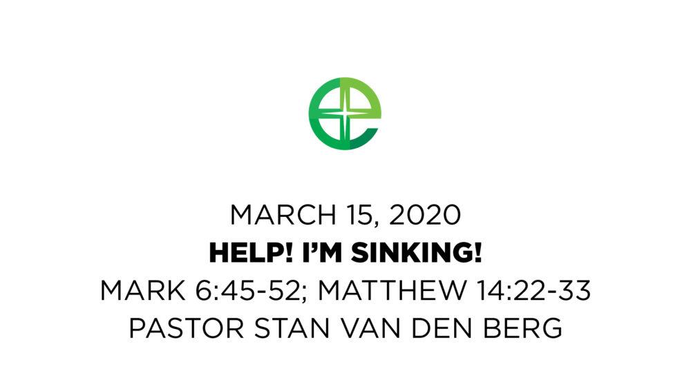 Help! I'm Sinking Image